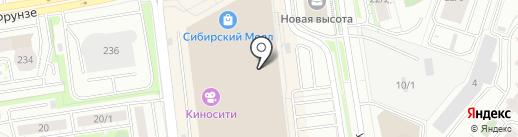 Магазин аксессуаров для мобильных телефонов на карте Новосибирска