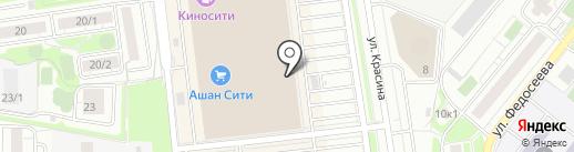 Tom Farr на карте Новосибирска