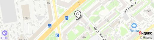Страховой магазин на карте Новосибирска