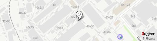 ФОРТМАКС на карте Новосибирска