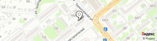 Садовод на карте Новосибирска