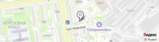 Шарм на карте Новосибирска