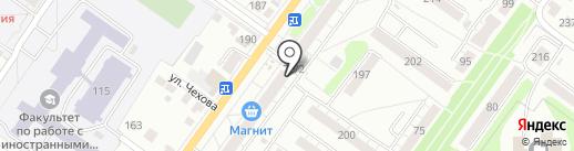 Лекторг на карте Новосибирска