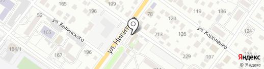 БЛИК-НСК на карте Новосибирска