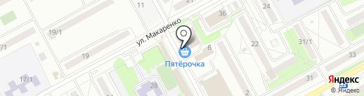 АйТи Сити на карте Новосибирска