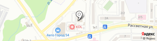 ЛаФеста на карте Новосибирска