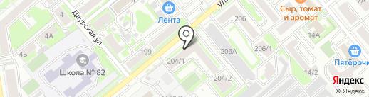 Exclusive на карте Новосибирска