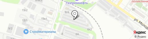 Автомастерская на карте Новосибирска