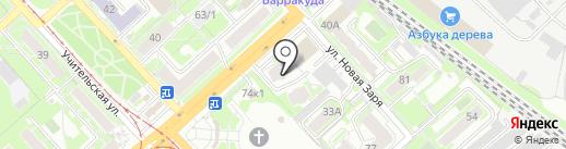 НСК мебель-сервис на карте Новосибирска