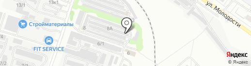 СибЛекс на карте Новосибирска