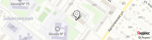 Ателье по ремонту одежды на карте Новосибирска