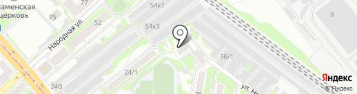 Стройкомплект на карте Новосибирска