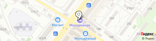Фотокопировальный центр на карте Новосибирска