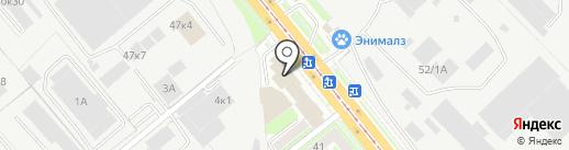 Сиинтех на карте Новосибирска
