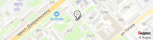Allprint дизайн на карте Новосибирска