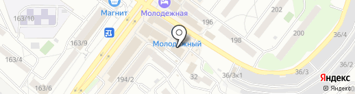 Аквафит на карте Новосибирска