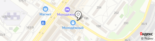 Сладкоежка на карте Новосибирска