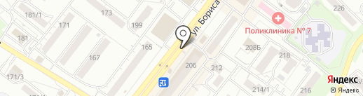 Инмарко на карте Новосибирска