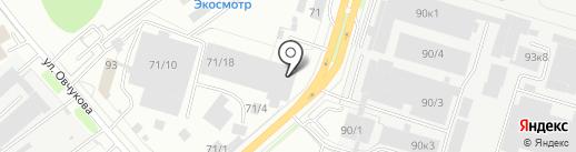 СПЕЦПОКРЫТИЕ на карте Новосибирска