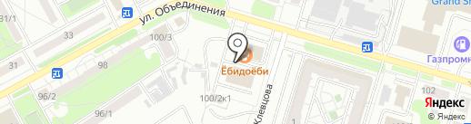 АМК-Групп на карте Новосибирска