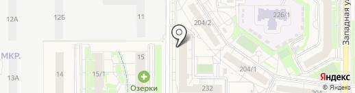 Домашний на карте Краснообска