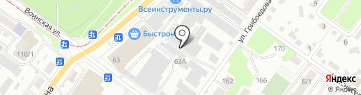 SuperShapka на карте Новосибирска