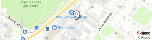 Компания по уборке снега на карте Новосибирска