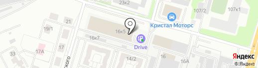 Дары Кедра на карте Новосибирска