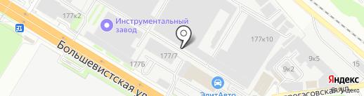 ИндТех на карте Новосибирска