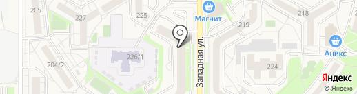 ЛИНИЯ УЛЫБКИ на карте Краснообска