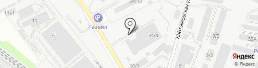 Автоэкспресс на карте Новосибирска