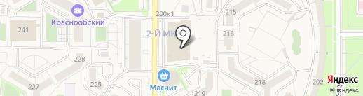 Фарм-Лайт на карте Краснообска