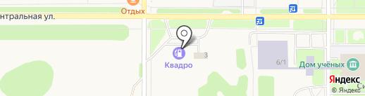 Шин-trek на карте Краснообска