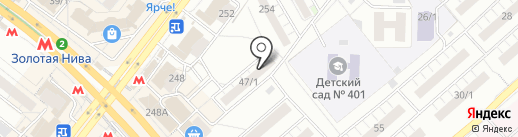 Ателье-мастерская меха и кожи на карте Новосибирска