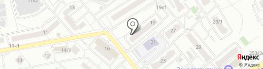 Успех, ТСЖ на карте Новосибирска