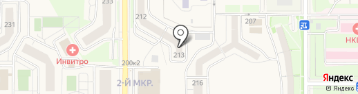 АЛЬЯНС-12 на карте Краснообска