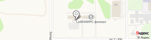 СибНИИРС на карте Краснообска