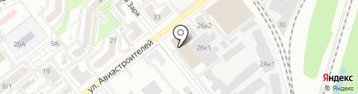 4А на карте Новосибирска