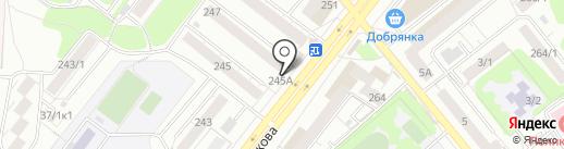 Qiwi на карте Новосибирска