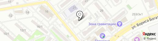 Тиффани на карте Новосибирска