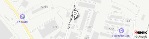 ТГК на карте Новосибирска