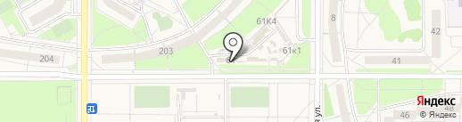 Мясной магазин на карте Краснообска