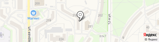 Головастики на карте Краснообска