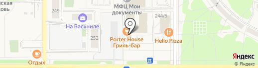 Банкомат, Банк ВТБ 24, ПАО на карте Краснообска