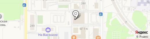 Магазин женской одежды на карте Краснообска