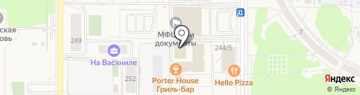 Служба здоровья на карте Краснообска