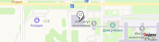 Новосибирская агропромхимия на карте Краснообска