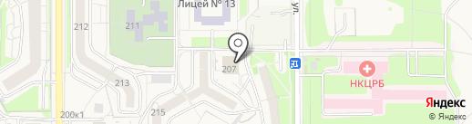 Аптека.ру на карте Краснообска