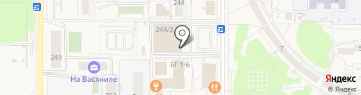 Хозяин на карте Краснообска