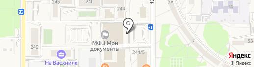 Торгово-сервисная компания на карте Краснообска